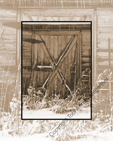 Barn Door Sepia